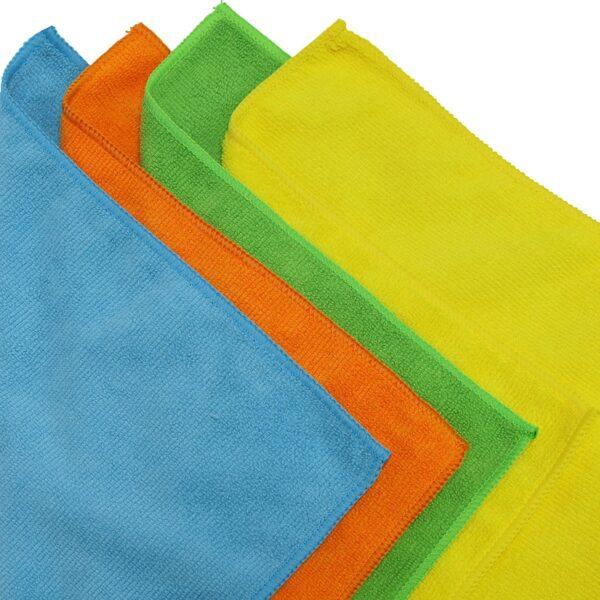 50 Pack - SimpleHouseware Microfiber Cleaning Cloth (12 x 16)