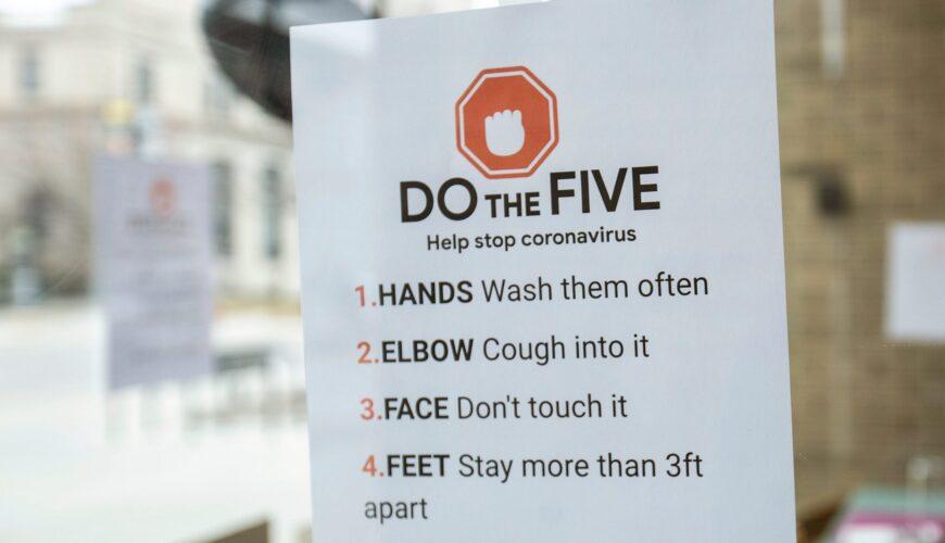 Coronavirus tips Covid-19 Cleaning Service